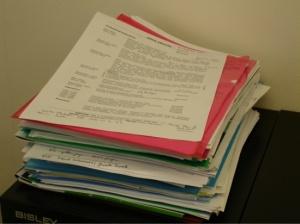 stack of CV